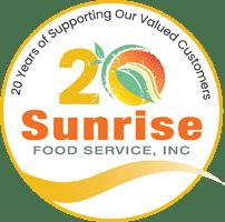Sunrise Food Service - 20 Years